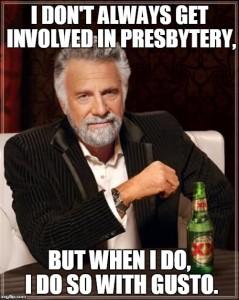 involved in presbytery gusto meme