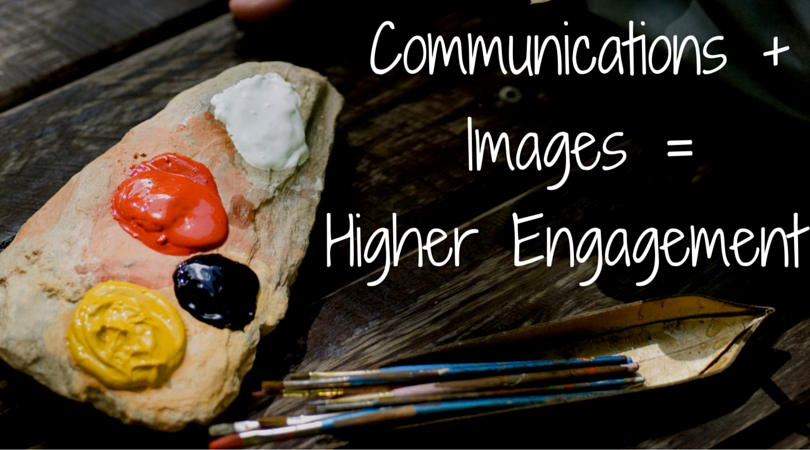 Communications + Images =Higher Engagement