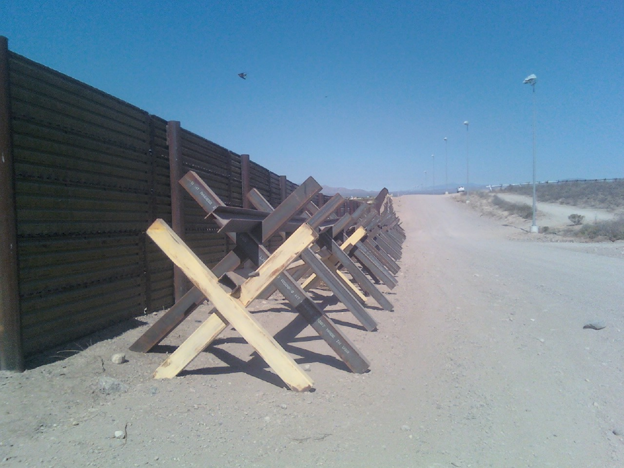 Country Border fence