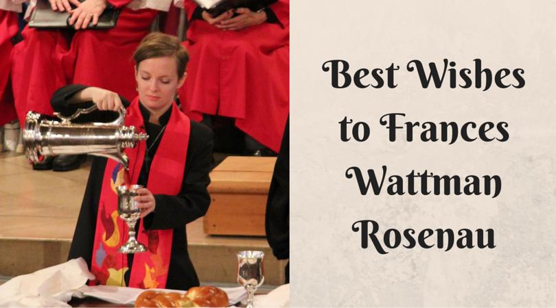 Frances Wattman Rosenau Farewell FB