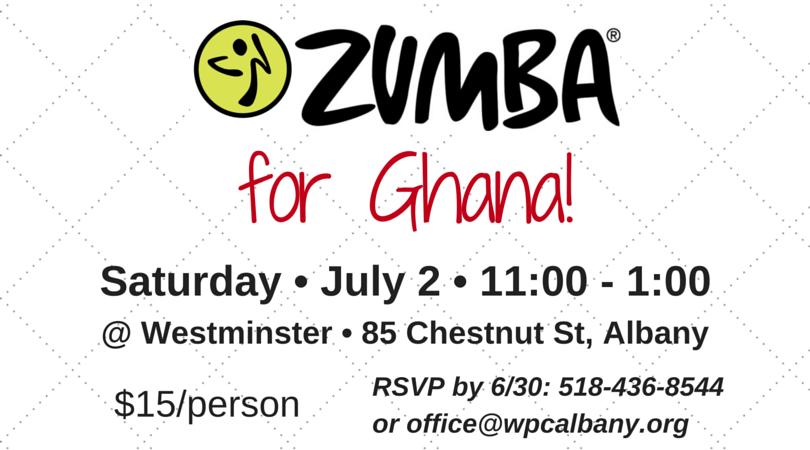 ZUMBA for Ghana! FB App