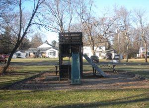 Delmar Pres Playground old slide