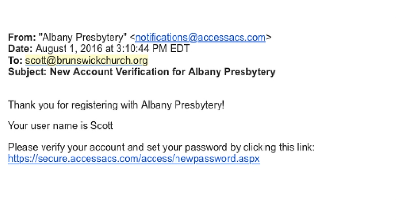 Email Verification FB