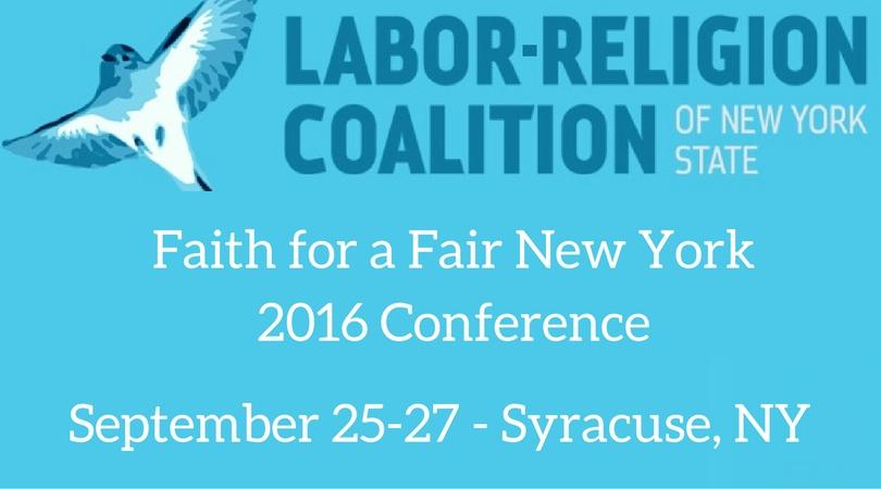Faith for a Fair New York 2016 Conference