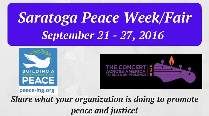 Saratoga Peace Week FB