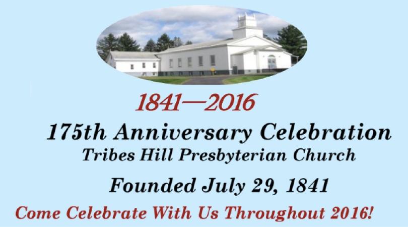 Tribes Hill Pres Church Celebration FB