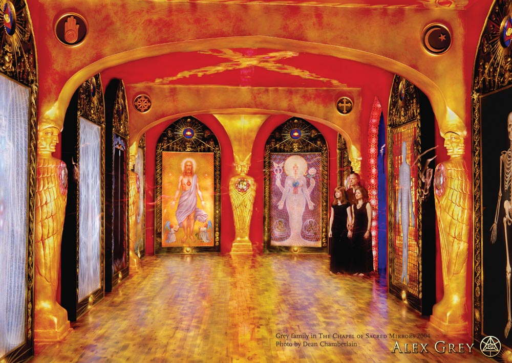 chapel of sacred mirrors  nyc