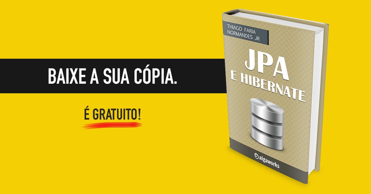 E-book de JPA e Hibernate