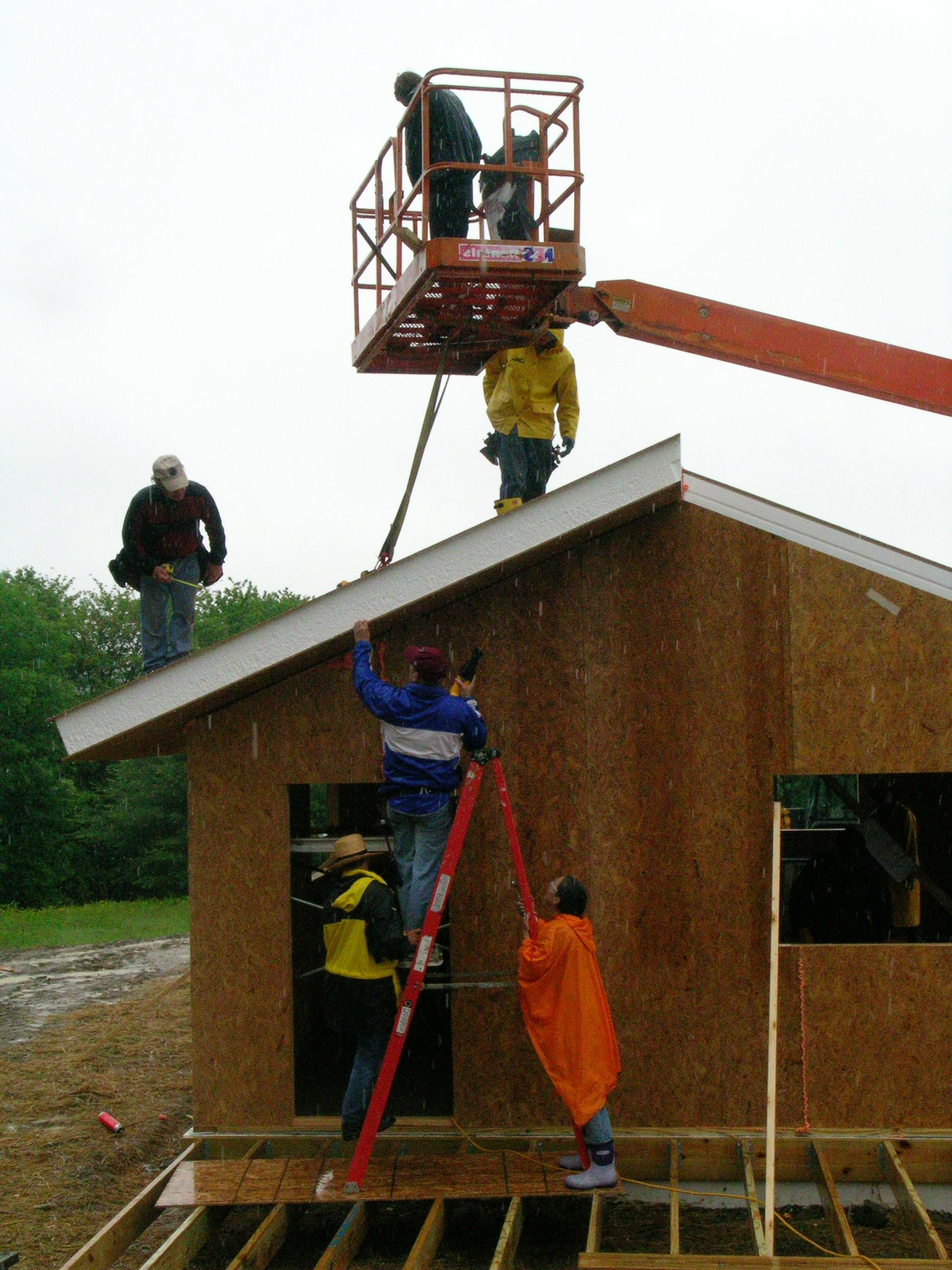 building a cottage at light on the hill retreat center