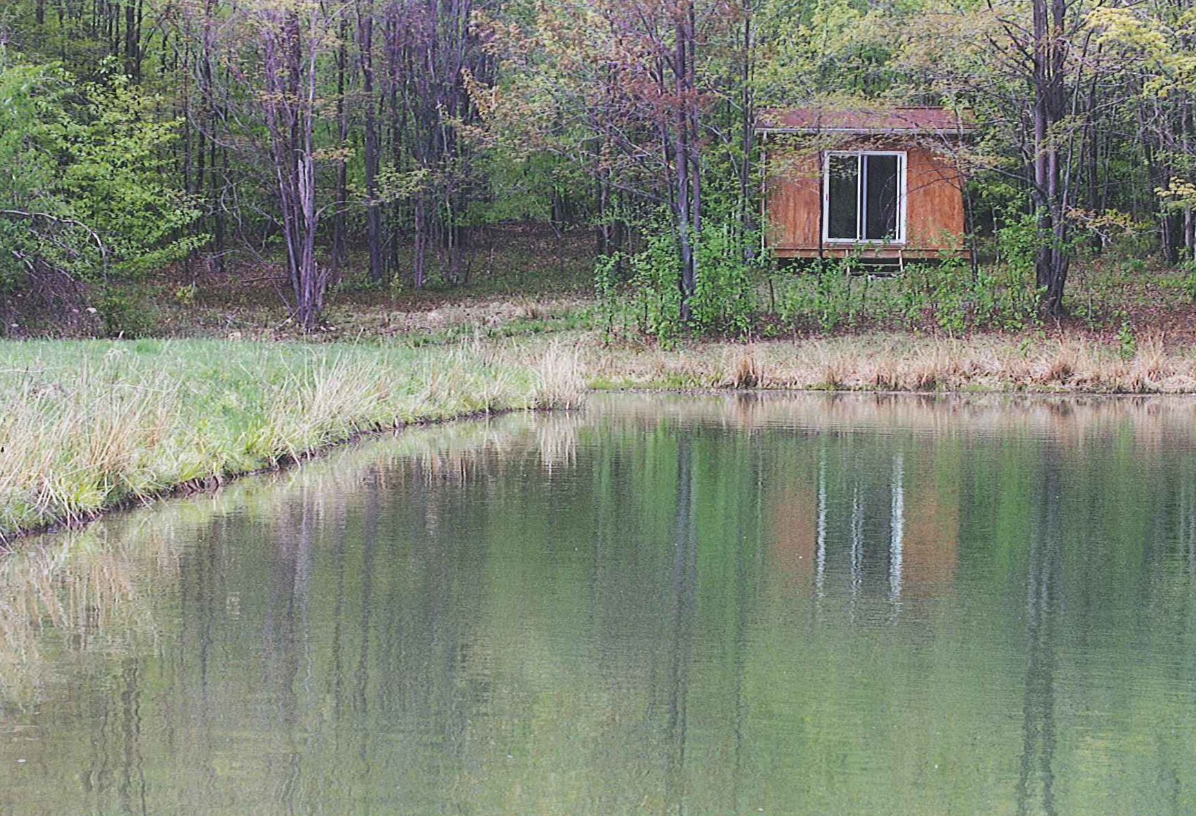 Pond-retreat-hut