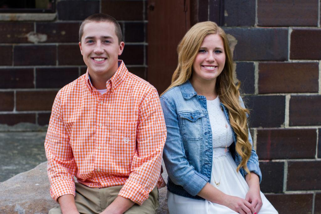 Madison Heights, Michigan Senior Portraits: Cameron + Mackenzie