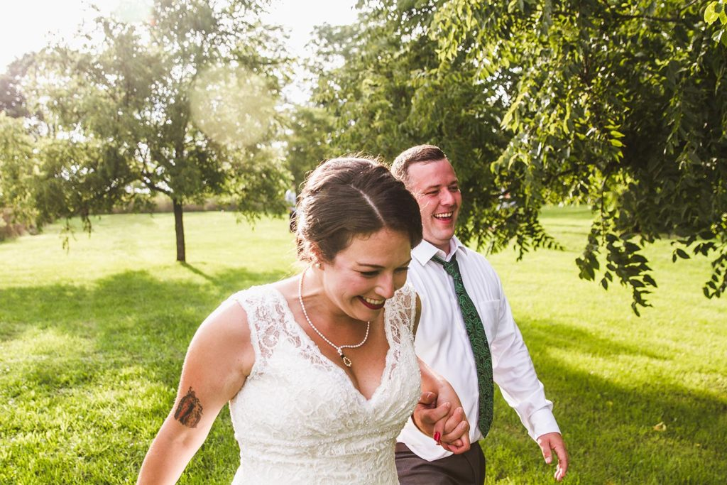 Mason, Michigan Wedding: Erin + Matt