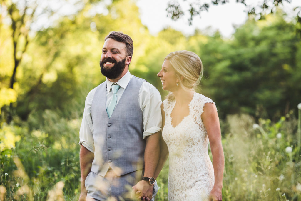 Benton Harbor, Michigan Wedding at Blue Dress Barn: Jaime + Mitch