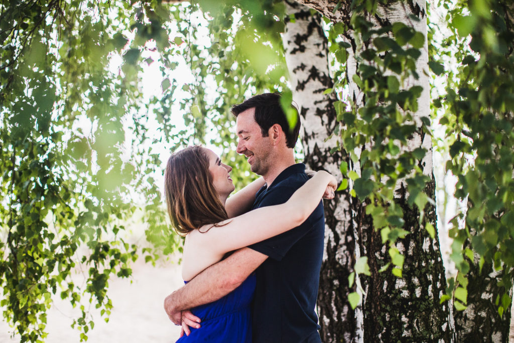 Grand Haven, Michigan Anniversary Portraits: Hannah + Aaron