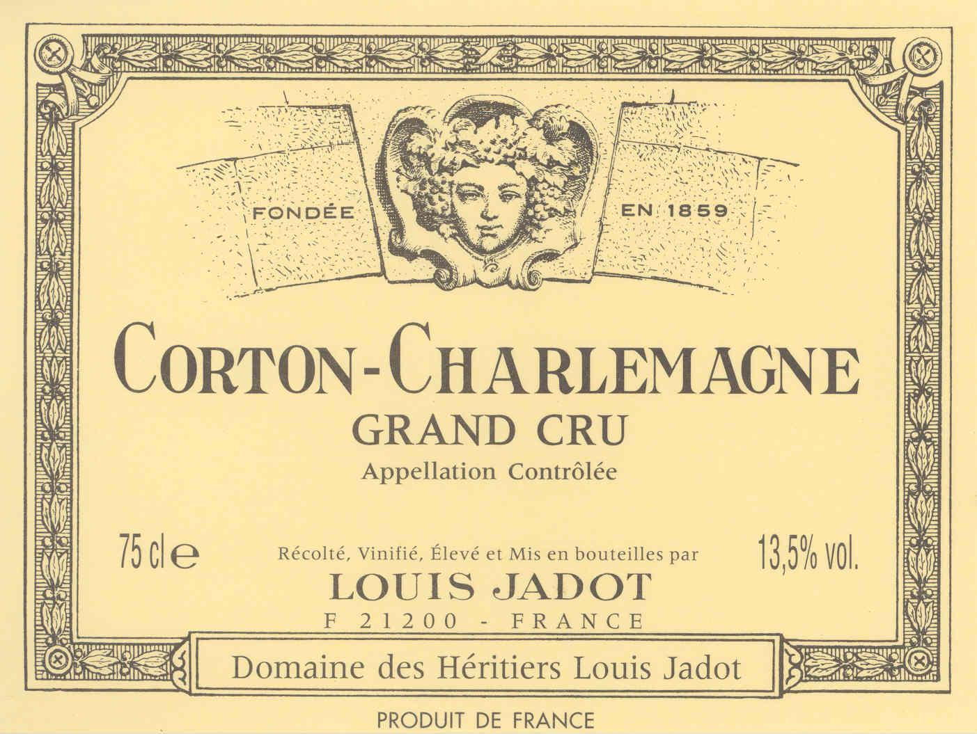 Corton charlemagne original