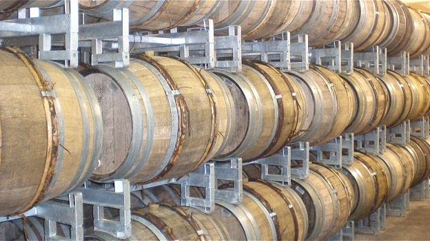 Krug barrels vinous