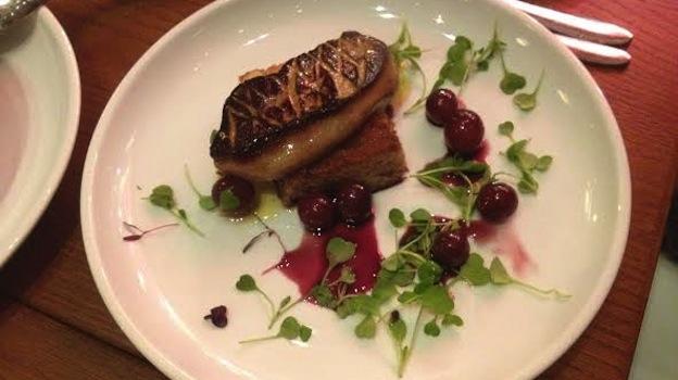 Foie gras sized