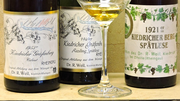 Germany rheingau robert weil 1953 and 1949   copy