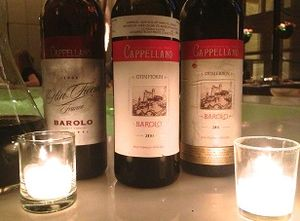 Vinous Table: Cappellano Barolos at the Four Seasons, New York (Jun 2014)