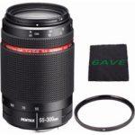 pentax hd pentax da 55 300mm f4 58 ed wr lens uv filter microfiber 150x150 - Canon EF 75-300mm f/4-5.6 III Telephoto Zoom Lens for Canon SLR Cameras (Certified Refurbished)