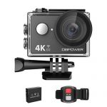 dbpower 4k action camera 12mp ultra hd waterproof sports cam with built in 150x150 - Canon EF 75-300mm f/4-5.6 III Telephoto Zoom Lens for Canon SLR Cameras