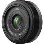 panasonic lumix g h h020 20mm f17 aspherical pancake lens for micro four 150x150 - Panasonic Lumix G 20Mm F/1.7 II Aspherical Lens For Micro Four Thirds Mount - Black Base