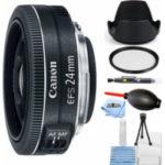 canon ef s 24mm f28 stm lens starter bundle 150x150 - PANASONIC LUMIX G LEICA DG MACRO-ELMAR LENS, 45MM, F2.8 ASPH., PROFESSIONAL MIRRORLESS MICRO FOUR THIRDS, MEGA OPTICAL I.S., H-ES045 (USA BLACK)
