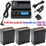 kastar fast charger and bp u66 battery 3x for sony bp u90 bp u60 bp u30 and 150x150 - Kastar BP-U66 Battery (3X) for Sony BP-U90 BP-U60 BP-U30 and PXW-FS7/FS5/X180 PMW-100/150/150P/160 PMW-200/300 PMW-EX1/EX1R PMW-EX3/EX3R PMW-EX160 PMW-EX260 PMW-EX280 PMW-F3 PMW-F3K PMW-F3L Camcorders