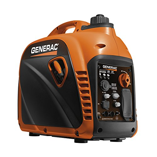 Generac 7117 GP2200i 2200 Watt Portable Inverter Generator – Parallel Ready
