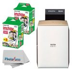 new fujifilm instax share smartphone printer sp 2 gold fujifilm instax 150x150 - NEW Fujifilm instax SHARE Smartphone Printer SP-2 (Gold) + Fujifilm Instax Mini Twin Pack Instant Film (60 Shots) + Photo4Less Cleaning Cloth + Great Value Ultimate Filming Bundle