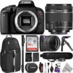 canon eos rebel t7i dslr camera with 18 55mm lens w advanced photo and 150x150 - Valentine One Radar Detector