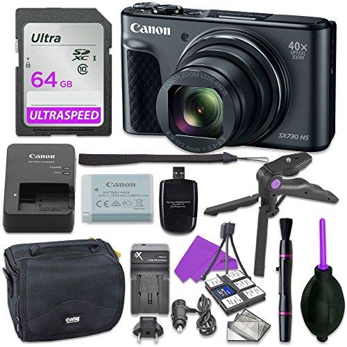 canon powershot sx730 point shoot digital camera bundle w tripod hand grip - Allshopathome-Best Price Comparison Website,Compare Prices & Save