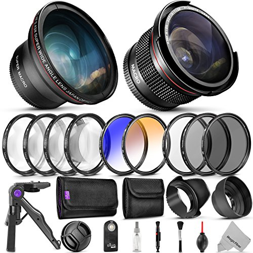 professional 58mm lens filter bundle for canon complete dslr mirrorless - Allshopathome-Best Price Comparison Website,Compare Prices & Save