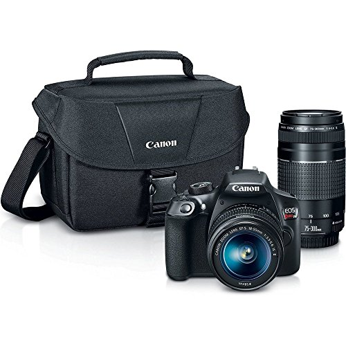canon eos rebel t6 digital slr camera kit with ef s 18 55mm and ef 75 300mm - Allshopathome-Best Price Comparison Website,Compare Prices & Save