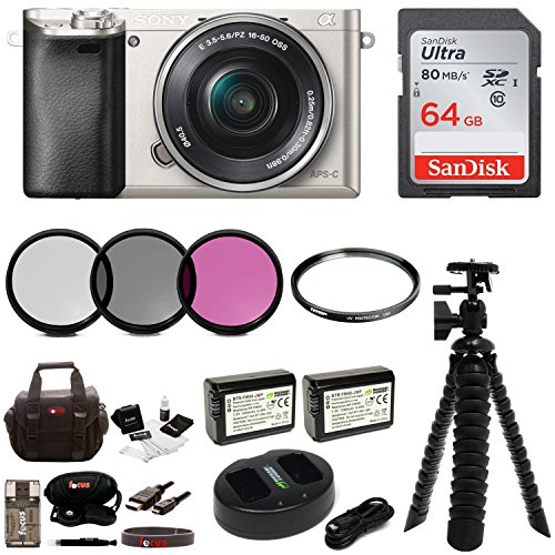 sony alpha a6000 mirrorless camera w16 50mm lens 64gb accessory bundle - Allshopathome-Best Price Comparison Website,Compare Prices & Save
