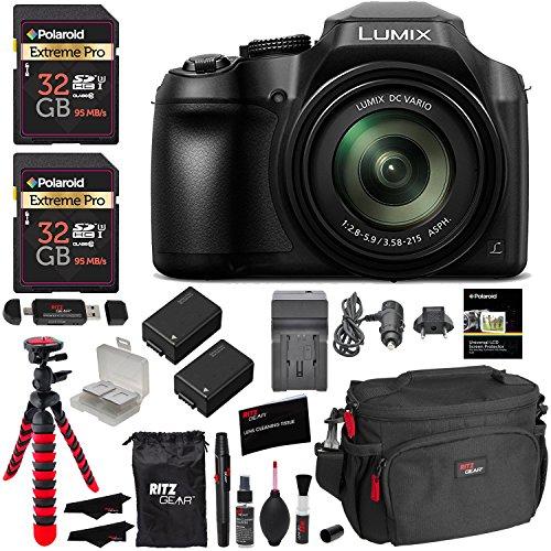 panasonic lumix dc fz80 digital camera 32gb sdhc memory card 2 spare - Allshopathome-Best Price Comparison Website,Compare Prices & Save