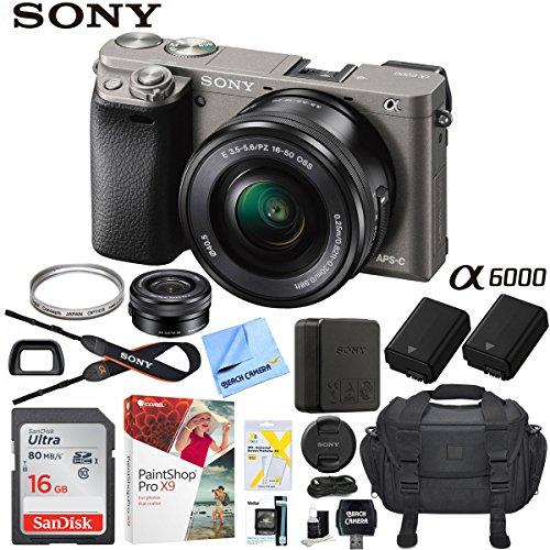 sony alpha a6000 mirrorless digital camera 243mp slr black w16 50mm lens - Allshopathome-Best Price Comparison Website,Compare Prices & Save