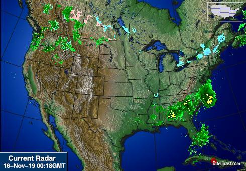 North American Weather Radar Image