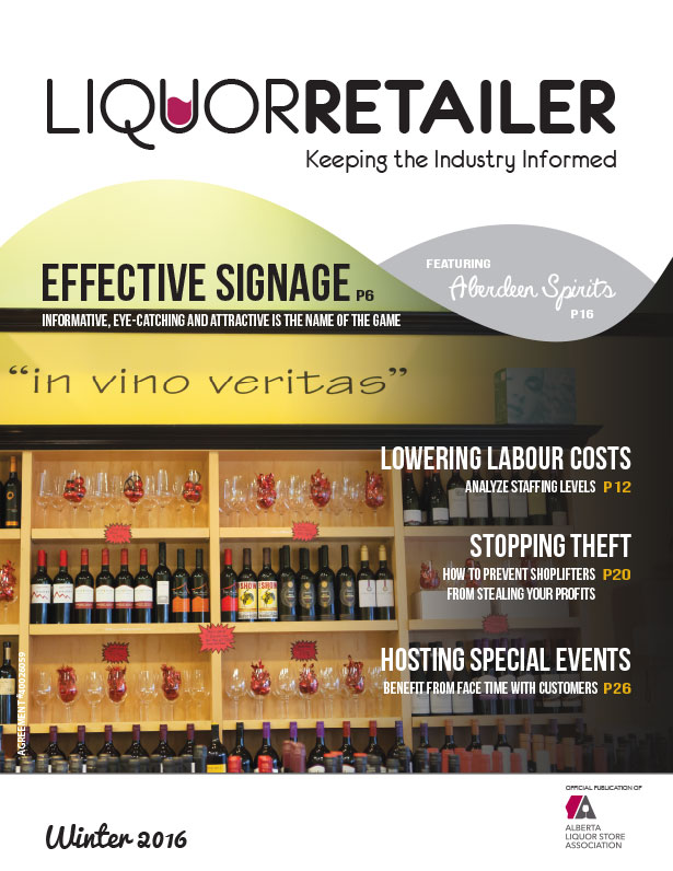 Liquor Retailer Winter 2016