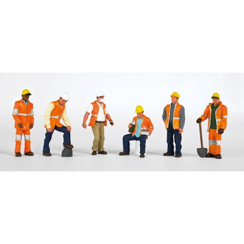 Ho scale figures unpainted