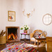 Interior Design: Kathryn Ireland  Rug: Amadi Carpets