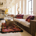 Interior Design: Commune Design;  Rug: Amadi Carpets