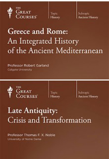 (Set) Late Antiquity & Greece and Rome: An Integrated History