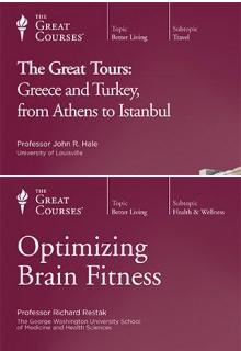 (Set)  Great Tours: Greece and Turkey & Optimizing Brain Fitne