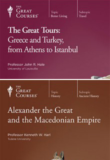 (Set) Great Tours: Greece and Turkey, from Athens to Istanbul  & Alexander the Great and the Macedonian Empire