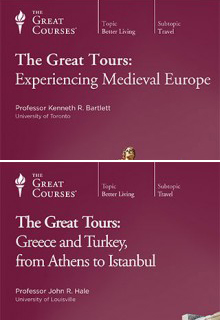 (Set) The Great Tours: Experiencing Medieval Europe & Great Tours: Greece and Turkey, from Athens to Istanbul