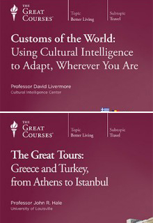 (Set) Customs of the World: Using Cultural Intelligence to Adapt, Wherever You Are & Great Tours: Greece and Turkey, from Athens to Istanbul