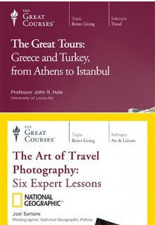 (Set) The Art of Travel Photography: Six Expert Lessons & Great Tours: Greece and Turkey, from Athens to Istanbul