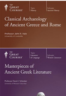 (Set) Classical Archaeology of Ancient Greece and Rome & Masterpieces of Ancient Greek Literature