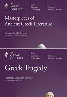 (Set) Masterpieces of Ancient Greek Literature & Greek Tragedy